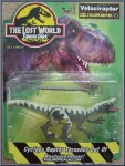 The Lost World Jurassic Park Boxed Cyclops Raptor Velociraptor