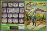 The Lost World Jurassic Park Glider Pack with Ian Malcom