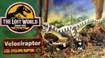The Lost World Jurassic Park Velociraptor Cyclops Raptor