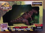 the lost world jurassic park mint in box Carnotaurus
