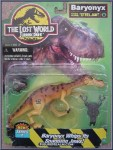 the lost world jurassic park mint in box baryonyx