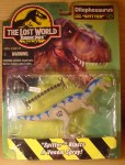 the lost world jurassic park mint in box dilophosaurus