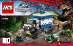 LEGO Jurassic World set #75917 Raptor Rampage