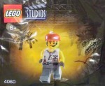 LEGO Studios set #4060 Grip minifigure