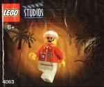 LEGO Studios set #4063 Cameraman 2 minifigure