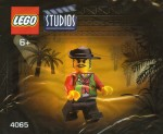 LEGO Studios set #4065 Actor 3 minifigure