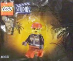 LEGO Studios set #4066 Actor minifigure