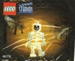 LEGO Studios set #4072 Skeleton minifigure