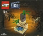 LEGO Studios set #4074 Tree with Blue Spider